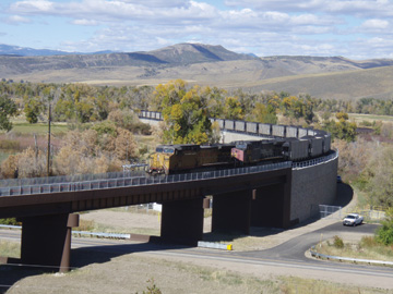 Picture-5--First-Train---Crossing-US-40-Bridge