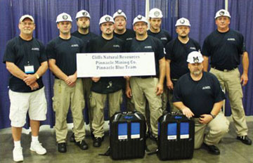 National Mine Rescue, First Aid, Bench and Preshift Competition  Winners are Announced