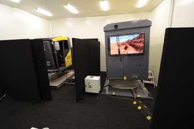The program combines classroom and simulator training.