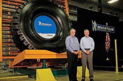 Michelin New Tire Plant for Haul Trucks