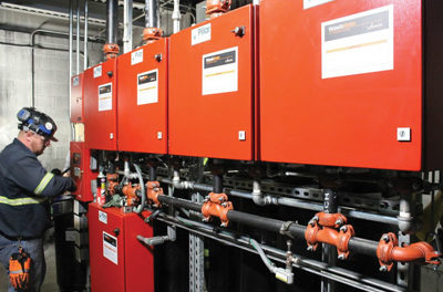 Hybrid Suppression System Overcomes  MCC Room Fire Protection Challenges