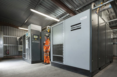 Compressors Play Major Role in South Wales Coal Mine
