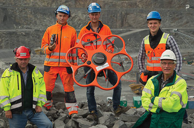 Hexagon Acquires Drone Manufacturer