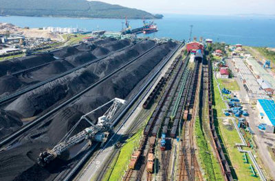 Russian Coal Exports in the Pacific Rim