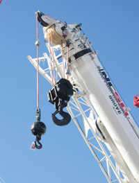 Manitowoc and Samson Unveil Rope for Mobile Cranes