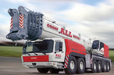 ALL Family of Companies Grows Crane Fleet