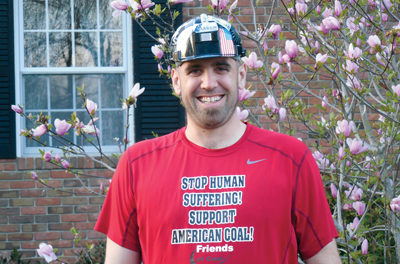 Coal Runner Supports Coal Industry in Boston Marathon
