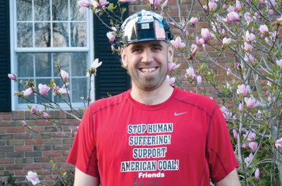 Coal Runner Supports Coal Industry in Boston Marathon