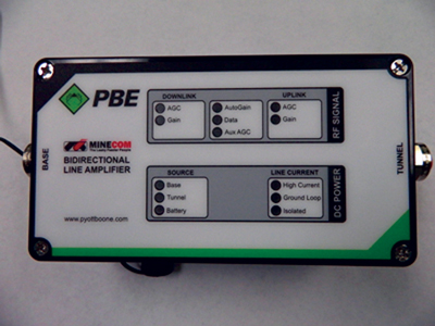 The PBE Group received MSHA approval for its BDA-4 earlier this year.