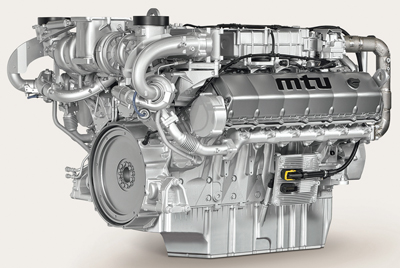 Diesel engine builders have taken different approaches to solve a technological paradox posed by increasingly stringent standards for diesel exhaust emissions: Focusing on reductions in NOx results in increased diesel particulate matter (PM), while lowering PM levels will result in higher NOx concentrations in the exhaust. Above, an 'X-ray' view of Liebherr's Tier 4f-compliant engine design. (Photo courtesy of Liebherr)