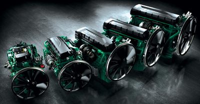 Volvo Penta's mid-range diesel lineup will offer automatic start/stop capabilities. (Photo courtesy of Volvo Penta)