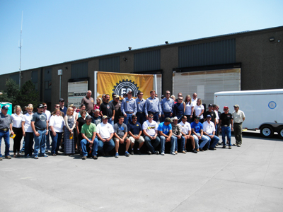L&H Industrial's 50th anniversary.