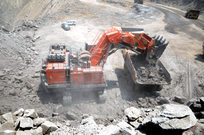 On average, an excavator burns 525,000 gallons per year and a haul truck will burn 500,000 gallons per year.
