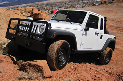 Chrysler Produces a Jeep for Underground Coal Mines