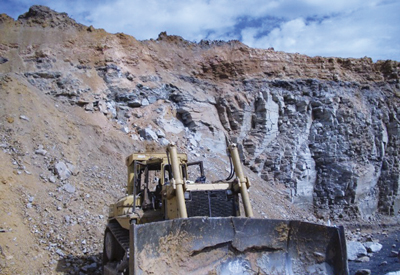 On September 15, bulldozer operator Barry Duncan, was preparing a drill bench on top of a highwall in Alabama when his dozer traveled over the edge and fell about 50 ft to the bottom of the pit.