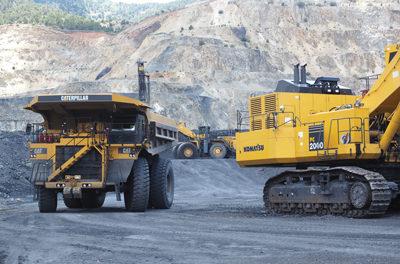 Mining the Iron Mountain