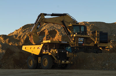 Hydraulic Mining Shovel Features Designs for Safe, Efficient Operation and Maintenance