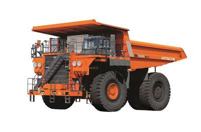Hitachi Unveils New Haul Trucks
