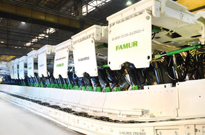 Famur Shearer Passes the Test in Polish Mine