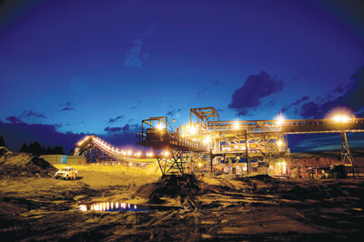 Anglo American's Isibonelo Colliery supplies coal to Sasol. (Photo credit: Anglo American)