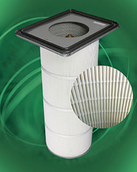 Synthetic Dust Collector Filter