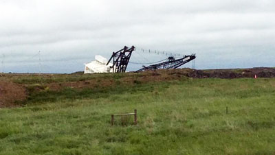 North Dakota Mine Idled After Dragline Slip
