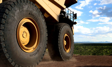 Michelin Introduces New Mining Tire