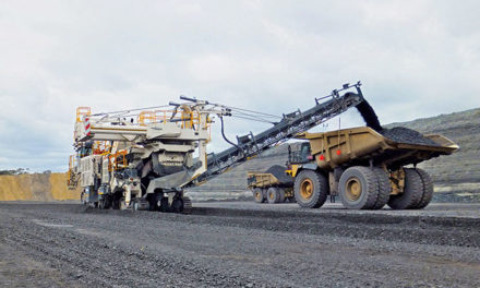 Surface Miner Offers Practical Alternative for Australian Coal Mine