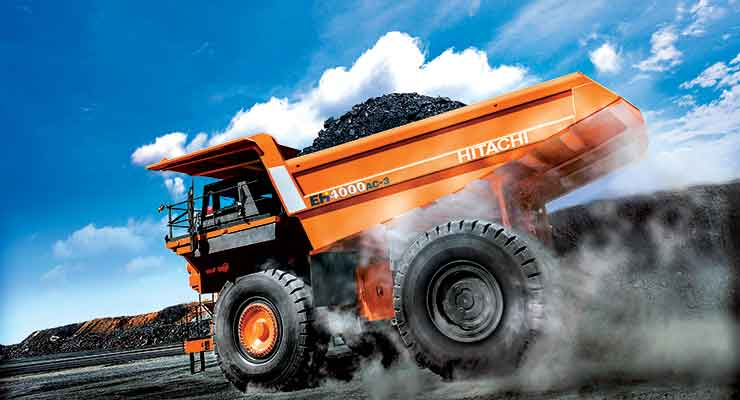 Hitachi recently introduced the 240-ton EH4000AC-3.