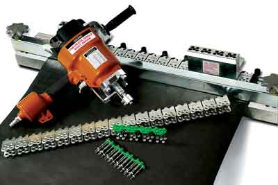 Flexco released its PSRD (Pneumatic Single Rivet Driver) tool this year.