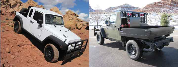 Utah-based Classic Motors Inc. offers both Ram and Jeep 4×4s — including the Jeep J8 — modified to meet underground mining compliance standards.