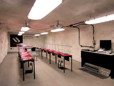 Inside the underground training academy, located just off the original portal bottom of Bailey.