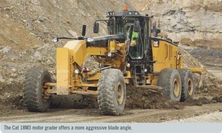 Cat Introduces New Mining Motor Grader