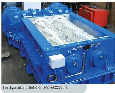 The thyssenkrupp RollSizer DRS 660X3000 S.