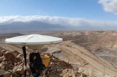 Radar Device Monitors Slope Stability