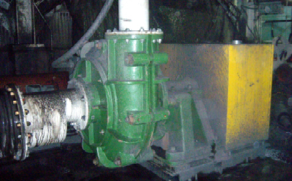 Schurco Engineers Slurry Pumps for Coal Preparation