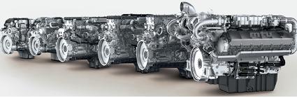 MTU's Series 1000 to 1500 engines