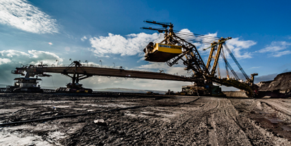The Bilina mine is the largest open-cut lignite mine in Central Europe. (Photo courtesy of Severoceske doly)