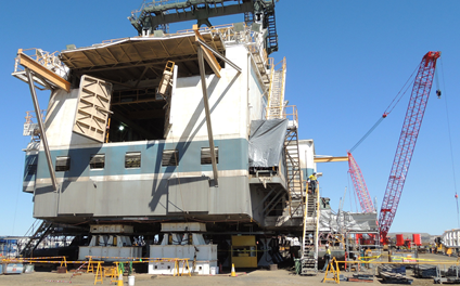 New Options for Dragline Maintenance Optimize Production Performance