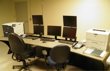 The modern, streamlined control station can permit monitoring elsewhere in the plant or even from off-site.