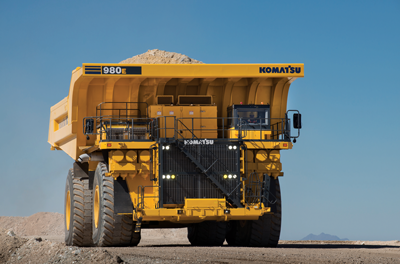 Komatsu Introduces New Large Haul Truck