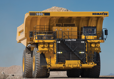 Komatsu Introduces New Large Haul Truck