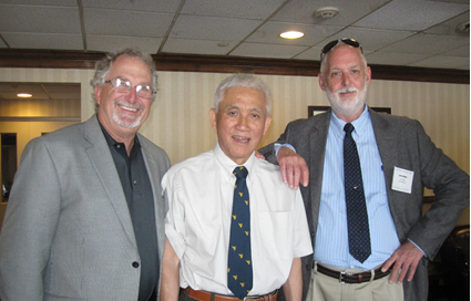 Steve Tadolini, Syd Peng and Gerry Finfinger (along with Tom Barczak, not pictured) will continue to have involvement in ICGCM conferences going forward as advisors to the board.
