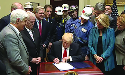 Working With Congress, President Trump Repeals Stream Protection Rule