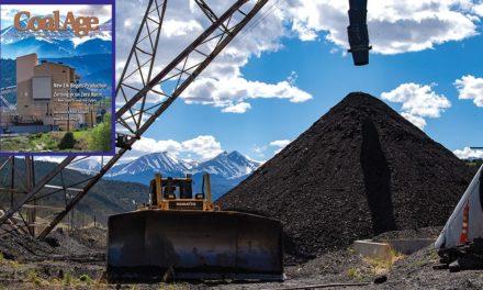 Coal Production Begins at New Elk Mine